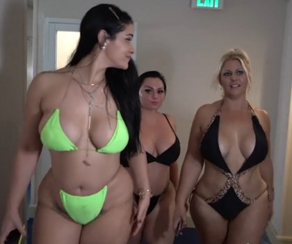 Betty Bang, Miss Rachel And Selah Rain In Foursome With BBC